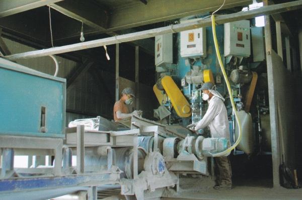 先进的水泥包装生产线