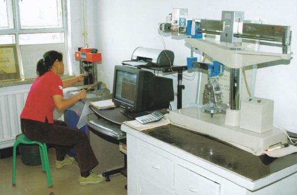 化验室实现微机数字分析
